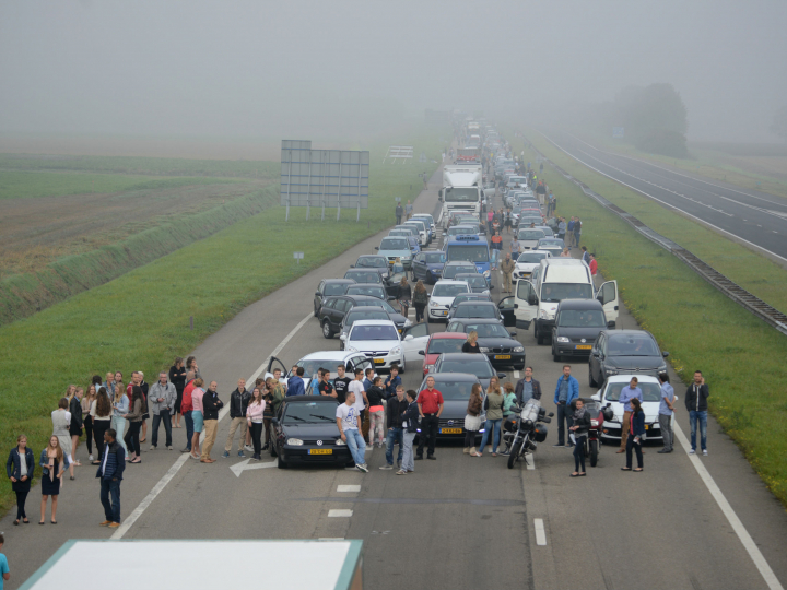 Afb A58 ongeval 2014